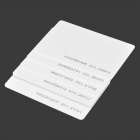 Door Entrance Guard ID Card - White (5 PCS)