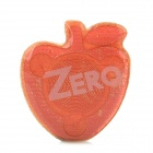 Cute Apple Shaped Anti Radiation Cell Phone Sticker - Red