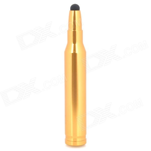 Big Bullet Shape Capacitive Touch Screen Stylus Pen - Golden