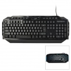 Genius LeiShen K8 Wired USB 114-Key Gaming Keyboard w/ Backlight - Black
