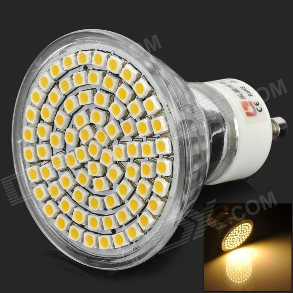 Lexing Lighting LX-007 GU10 3528-SMD 4w 260lm 3300k Warm White Light LED Spotlight Lamp - Silver 0 9m smd 3528 90 leds waterproof led rope light festival lighting