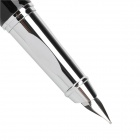 YONGSHENG 058 Exquisite Durable PC Shell Iraurita Nib Fountain Pen - Black