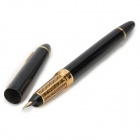 Yongsheng 050 Exquisite Durable PC Shell Iraurita Nib Fountain Pen - Black + Golden