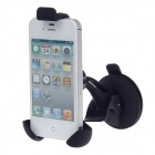 Universal 360 Degree Rotation Car Holder Mount w/ Suction Cup for Samsung / Iphone  - Black
