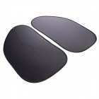 TT-CAR Nation CN-15 High Efficiency Static-Electric Sun Shades for Front Side Window - Black (2 PCS)