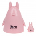 YAM Cartoon Kaninchen Stil Car Automatic Air Düfte Lufterfrischer - Pink + Black (Peach Scent)