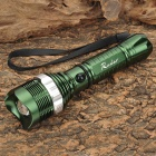 Radar 8066 Cree XP-E Q5 130lm Three Mode Cool White Light Flashlight - Green (3 x AAA / 1 x 18650)