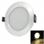 HUGEWIN HTD688 9w 550lm 3200k Warm White LED Ceiling Lamp - Silver