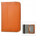 "Protective PU Leather Case for Teclast Onda Newman 7"" Tablet PC - Brown"