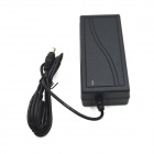 YU2403 24V 3A Power Adapter for CCTV Security Camera - Black (AC 100~240V)