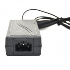 LX2403 24V 3A Power Adapter for CCTV Security Camera - Black (AC 100~240V)