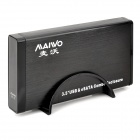 "MAIWO K3505B USB 2.0 + eSATA to SATA 3.5"" HDD Enclosure Case - Black (Max. 3TB)"
