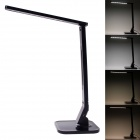 CV-100 Touchpad 14W 530lm 7000K 27-LED Table Lamp w/ USB Outlet - Black (100~240V / EU Plug)