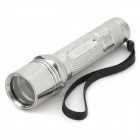 UItraFire 504B Aluminum Alloy Replacement Case for Flashlight - Silver