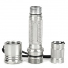 UltraFire 504B Aluminum Alloy Replacement Case for Flashlight - Silver