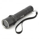 UltraFire 504B Aluminum Alloy Replacement Case for Flashlight - Black