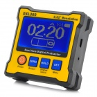 "ZnDiy-BRY DXL360 2.3"" LCD Dual-axis Digital Protractor - Black + Yellow"