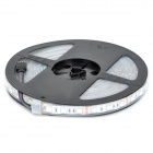 JZ-5050 Impermeável 72W 4300lm 300-SMD 5050 LED RGB Strip Light - Preto + Branco (12V / 5m)