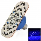 1157 1W 108lm 27 x SMD 3528 LED Blue Motorcycle Tail Light (DC 12V)