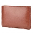 Stylish Protective PU Leather Inner Bag for Ipad MINI - Brown