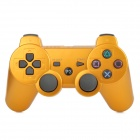Wireless Bluetooth V4.0 Game Controller for PS3 / PS3 SLIM / PS3 4000 - Golden