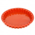DIY Round Shape Silicone Cake Pizza Module - Brown