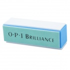 OPI OPI11 Sponge Four-Side Nail Care Buffing File - White + Blue + Grey