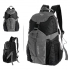 ROSWHEEL Outdoor Foldable Cycling Bicycle Nylon Backpack - Grey + Black