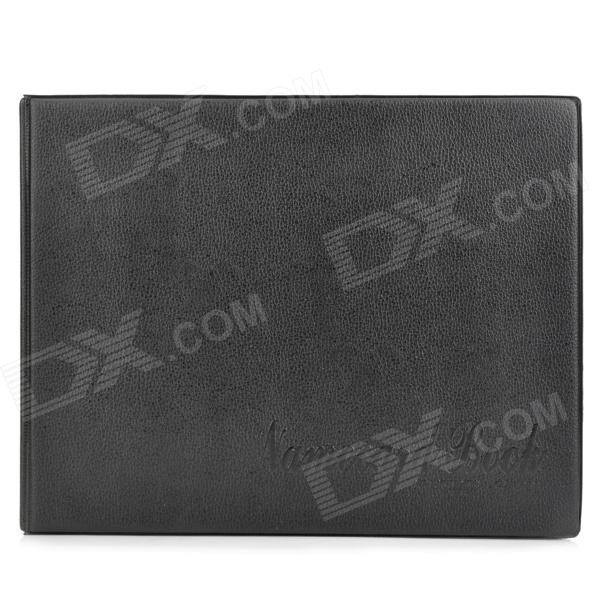XF360 Business Card Book Large Capacity Holder - Black roland xf 640 wiper holder 1000010211