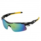 CARSHIRO T9358-C7 Outdoor Cycling UV400 Protection Polarized Sunglasses w/ Replacement Lenses