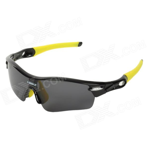 NBIKE T9311 Outdoor Cycling UV400 Protection Polarized Sunglasses w/ Replacement Lens clip on uv400 protection resin lens attachment sunglasses small