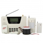 Heacent AD001 Wireless Home Security Auto-Dial Alarm System - White + Black