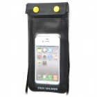 Free Soldier B Protective Swimming Diving Waterproof Bag Pouch for Iphone 4 / 4S - Black