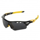 CARSHIRO T9559 Sporty UV400 Polarized Goggles + Replacement Lenses for Cycling & Outdoor Exercises