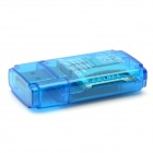 Mini USB 2.0 Multi-slot Card Reader for SD/MINISD/TF/MMC/RSMMC/M2
