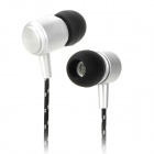 AWEI Q35 Stylish In-Ear Earphone for Iphone / Ipad / Ipod - Silver