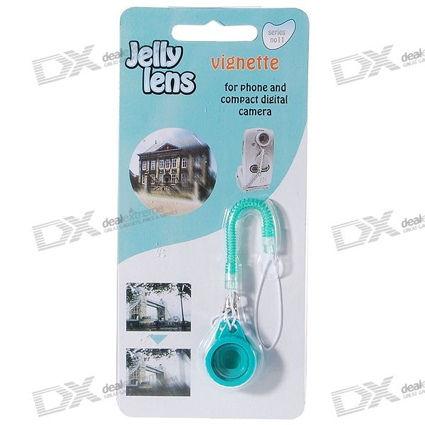Jelly Lens Vignette Filter for Cell Phones and Compact Digital Cameras