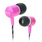 AWEI Q35 Stylish In-Ear Earphone for Iphone / Ipad / Ipod - Deep Pink
