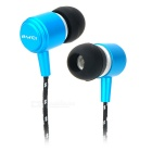 AWEI Q35 In-Ear Earphone for Iphone / Ipad / Ipod - Blue (3.5mm Plug)