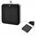 Tragbare 2200mAh solarbetriebene Blitz 8-Pin Mobile Power Bank für iPhone 5 / iPod Touch 5