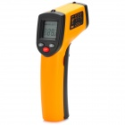 "BENETECH GM320 1.2"" LCD Infrared Temperature Tester Thermometer - Orange + Black (2 x AAA)"