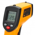 "Benetech GM320 1.2 ""LCD Infrared Tester Temperatura Termômetro - Orange + Black (2 x AAA)"