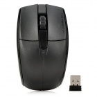 Motospeed G370 Universal 1000dpi Optical Wireless USB Mouse - Black (2 x AAA)