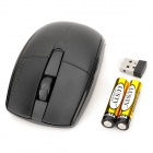 Motospeed G370 Universal 1000dpi Optical Wireless USB Mouse - Black