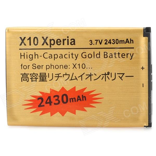 Replacement 3.7V 2430mAh Battery for SonyEricsson Xperia 1,Xperia X2, Xperia X10,M1i(Aspen) - Golden