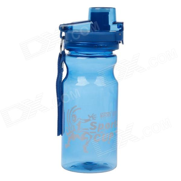 YAQI YQ-006 PC Dual-Buckle Water Bottle - Blue (550mL)