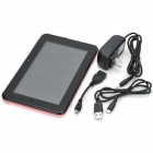 "M79 7"" Dual Core Android 4.1 Tablet PC med 1GB RAM / 4GB ROM / 2 x SIM / GPS - Orange + svart"