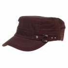 Outdoor Leisure Flat-top Sonnenschutz Cap - Brown