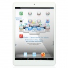 "Q7901C-2M 7.85"" IPS Quad-Core Android 4.2.2 Tablet PC w/ 8GB ROM, 1GB RAM, TF, HDMI - White + Silver"