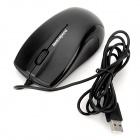 Motospeed F333 Universal 1000dpi Optical USB 2.0 Wired Mouse - Preto